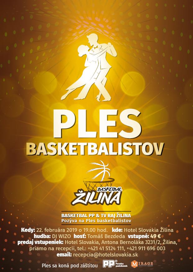 Ples Basketbalistov Žilina v hoteli Slovakia