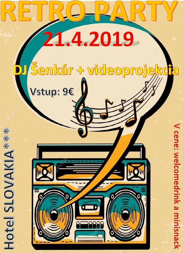 Retro Party v Hoteli Slovakia